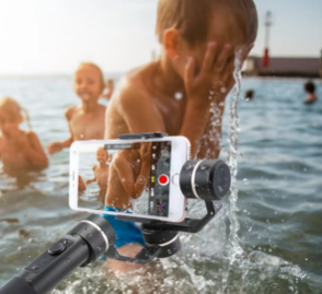 Better Adventure Videos With This Handheld Phone Stabilizer